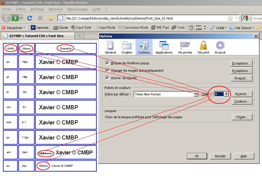 cmbp tutoriel css font best practices bonnes pratiques